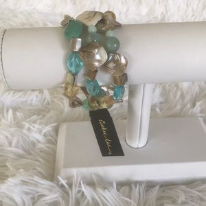 Cookie Lee✨NWT ✨Genuine Shell Set of 3 Bracelet